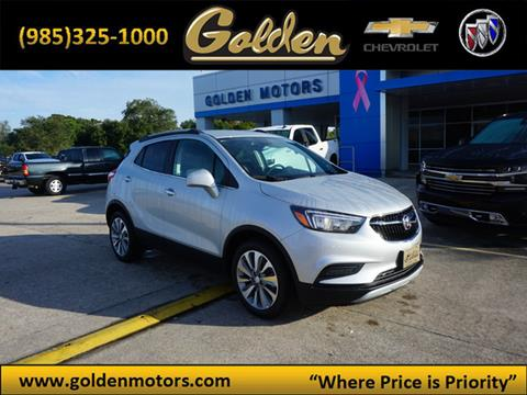 2020 Buick Encore for sale at GOLDEN MOTORS in Cut Off LA