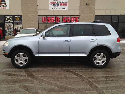 2005 Volkswagen Touareg for sale at Big Red Auto Sales in Papillion NE