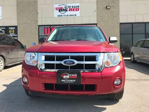 2008 Ford Escape for sale at Big Red Auto Sales in Papillion NE