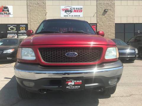 2002 Ford F-150 for sale at Big Red Auto Sales in Papillion NE
