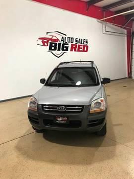2007 Kia Sportage for sale at Big Red Auto Sales in Papillion NE