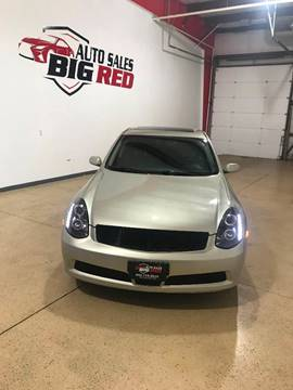 2006 Infiniti G35 for sale at Big Red Auto Sales in Papillion NE