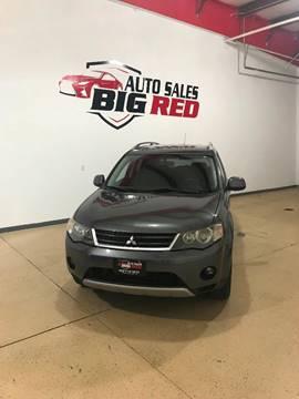 2007 Mitsubishi Outlander for sale at Big Red Auto Sales in Papillion NE
