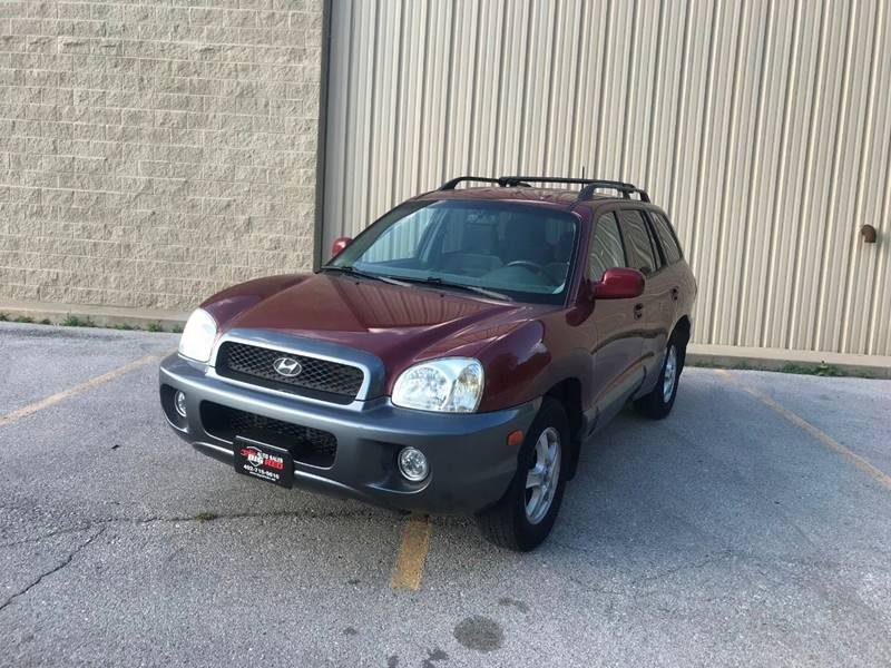 2004 Hyundai Santa Fe For Sale At Big Red Auto Sales In Omaha NE