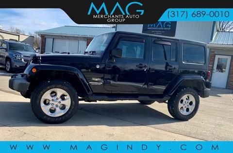 2014 Jeep Wrangler Unlimited for sale in Cicero, IN