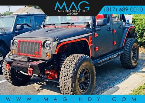 2012 Jeep Wrangler Unlimited for sale in Cicero, IN