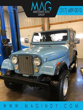 1980 Jeep CJ-5 for sale in Cicero, IN