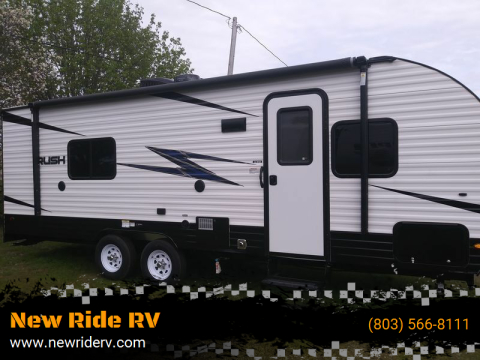 2020 RUSH 26WQB for sale at New Ride RV in Rock Hill SC