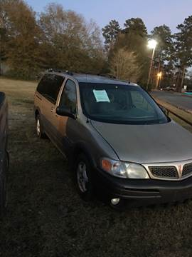 2002 Pontiac Montana for sale in Jasper, TX