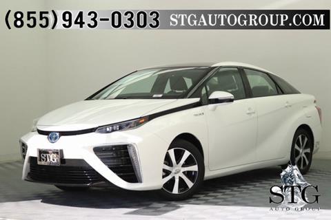 2016 Toyota Mirai For Sale In Garden Grove, CA