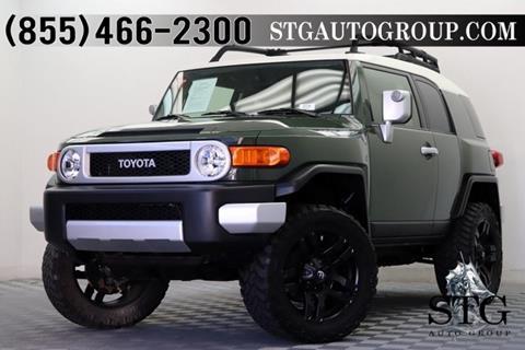 2014 Toyota FJ Cruiser For Sale In Garden Grove, CA