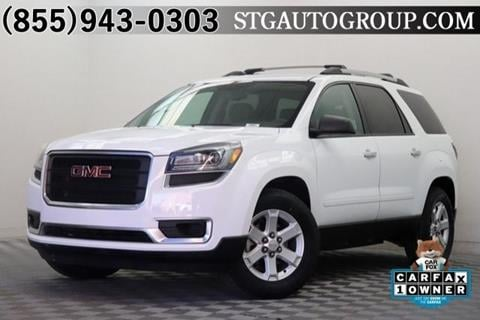 2016 GMC Acadia for sale in Garden Grove, CA