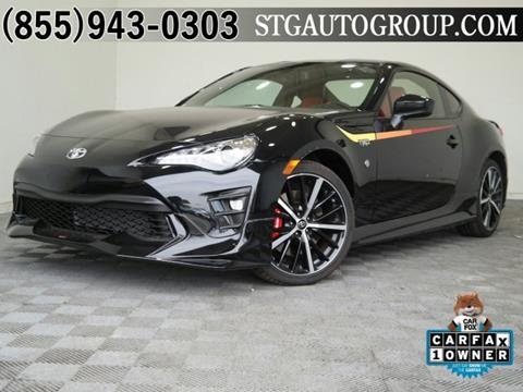 2019 Toyota 86 for sale in Garden Grove, CA