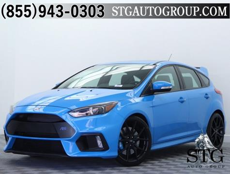 2017 Ford Focus for sale in Garden Grove, CA
