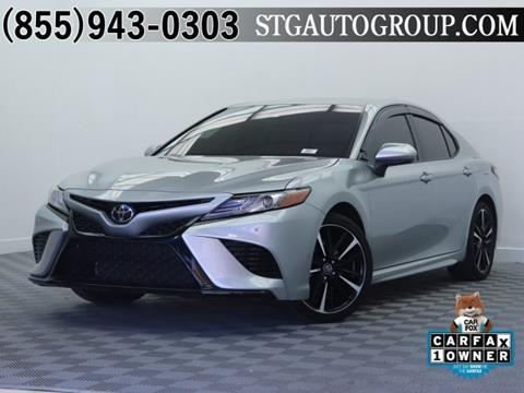 2018 Toyota Camry for sale in Garden Grove, CA