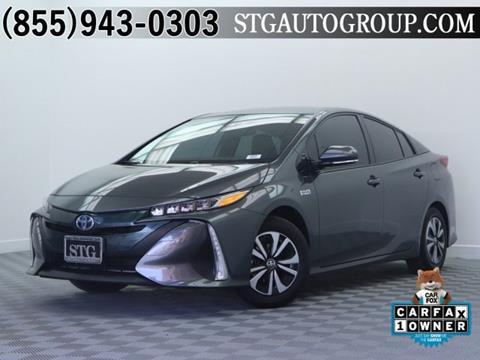 2017 Toyota Prius Prime for sale in Garden Grove, CA
