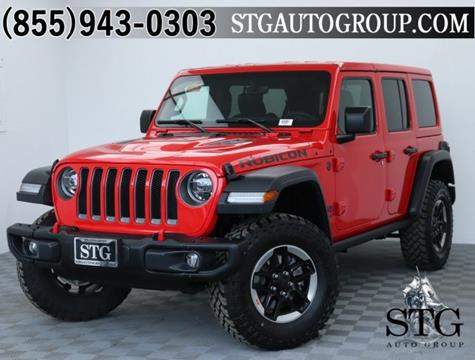 2019 Jeep Wrangler Unlimited for sale in Garden Grove, CA