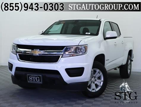 2018 Chevrolet Colorado for sale in Garden Grove, CA