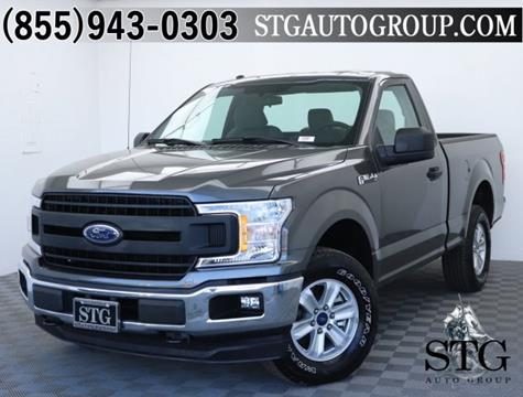 2018 Ford F-150 for sale in Garden Grove, CA