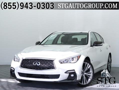 2018 Infiniti Q50 for sale in Garden Grove, CA