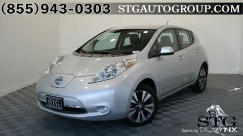2015 Nissan LEAF for sale in Garden Grove, CA