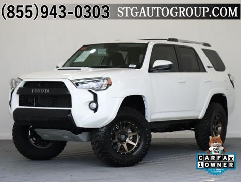 2016 Toyota 4Runner for sale in Garden Grove, CA
