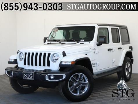 2018 Jeep Wrangler Unlimited for sale in Garden Grove, CA