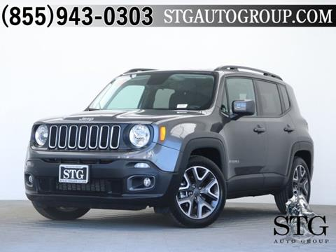 2017 Jeep Renegade for sale in Garden Grove, CA
