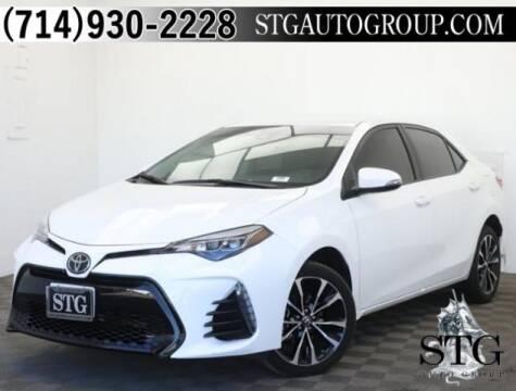 2019 Toyota Corolla SE for sale at STG Auto Group - Garden Grove in Garden Grove CA