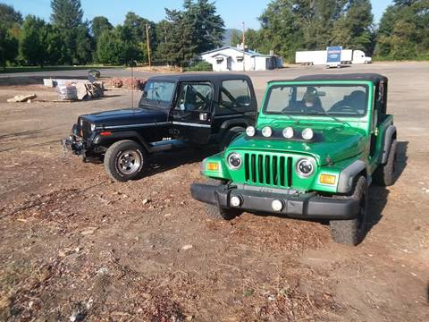 2004 Jeep Wrangler Sport for sale in Medford, OR