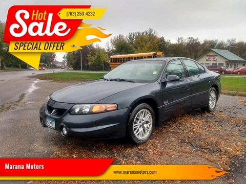 2000 Pontiac Bonneville for sale in Princeton, MN
