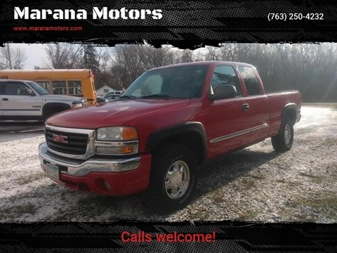 2003 GMC Sierra 1500 for sale in Princeton, MN