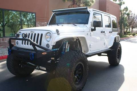 2015 Jeep Wrangler Unlimited For Sale At CK Motors In Murrieta CA