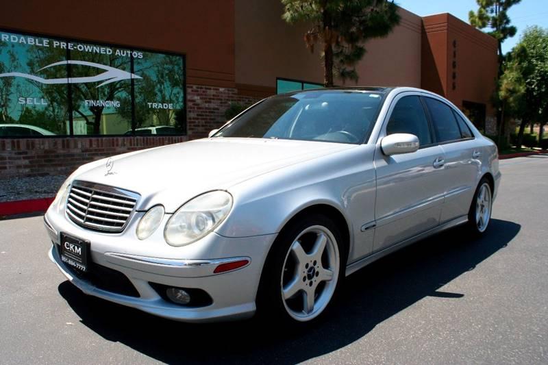 2006 Mercedes Benz E Class For Sale At CK Motors In Murrieta CA