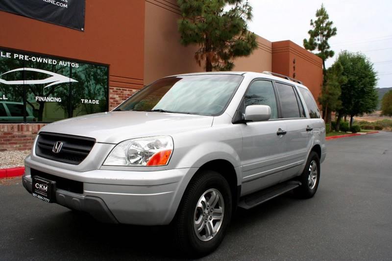 2003 Honda Pilot For Sale At CK Motors In Murrieta CA