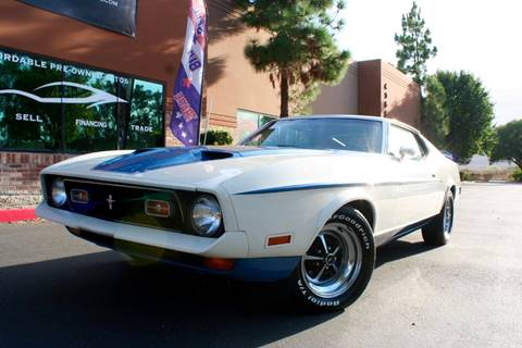 1972 Ford Mustang for sale in Murrieta, CA