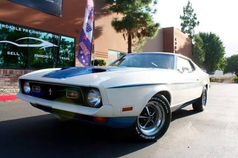 1972 Ford Mustang for sale at CK Motors in Murrieta CA
