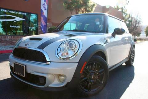 2013 MINI Hardtop Cooper S for sale at CK Motors in Murrieta CA