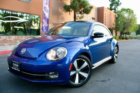 2013 Volkswagen Beetle Turbo PZEV for sale at CK Motors in Murrieta CA