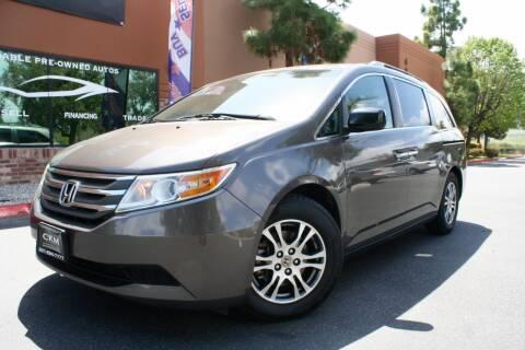 2011 Honda Odyssey EX for sale at CK Motors in Murrieta CA