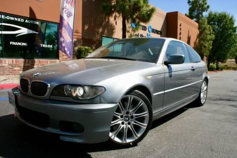 2005 BMW 3 Series 330Ci for sale at CK Motors in Murrieta CA