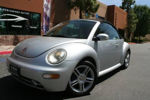 2004 Volkswagen New Beetle Convertible GLS for sale at CK Motors in Murrieta CA