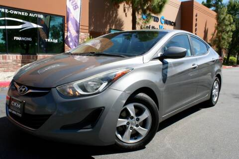 2014 Hyundai Elantra for sale at CK Motors in Murrieta CA