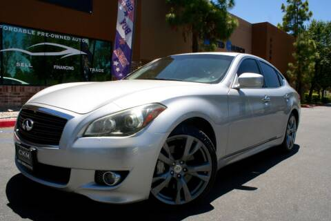 2012 Infiniti M37 for sale at CK Motors in Murrieta CA