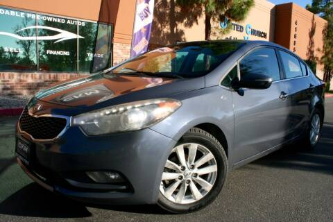 2014 Kia Forte for sale at CK Motors in Murrieta CA