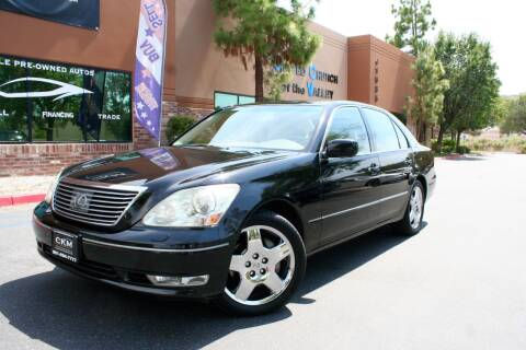 2005 Lexus LS 430 for sale at CK Motors in Murrieta CA