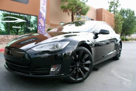 2013 Tesla Model S for sale at CK Motors in Murrieta CA