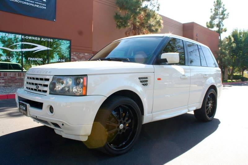2007 Land Rover Range Rover Sport for sale at CK Motors in Murrieta CA