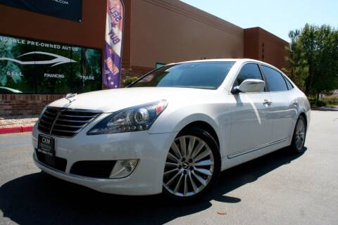 2014 Hyundai Equus for sale at CK Motors in Murrieta CA