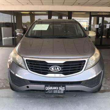 2011 Kia Sportage for sale at Casablanca SALES-DALLAS in Dallas TX